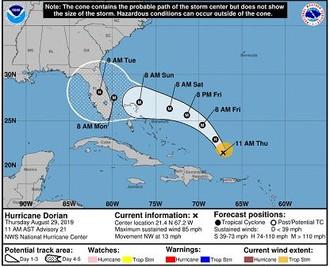 Ouragan DORIAN en Floride