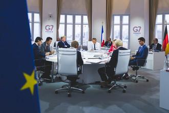 Une présidence française du G7 unanimement saluée