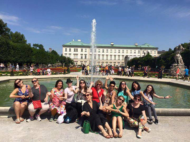 The Bel Canto team on a trip to Salzburg.