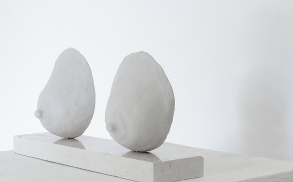 Milk and Hony, clay and marble, 16/40/8 cm