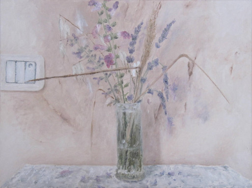 Summer bouquet, oil on canvas, 30/40 cm, 2017