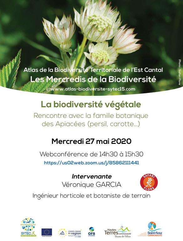 Webconférence : Biodiversité végétale : rencontre avec la famille des Apiacées