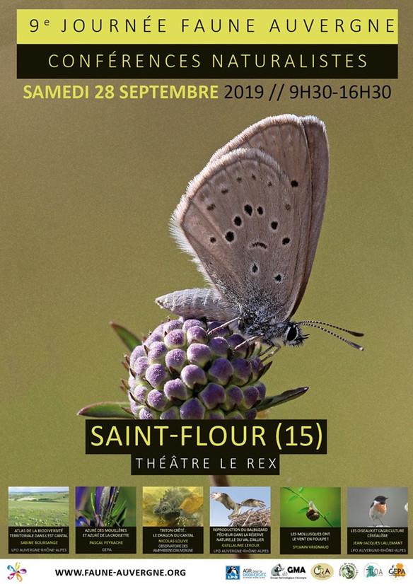 La Journée Faune Auvergne sera à Saint-Flour !
