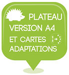 PICTOS CLE 6 PLATEAU A4 ET CARTES ADAPTA