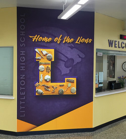 LHS Welcome Wall