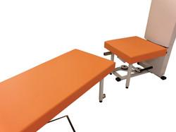 診療ベッドがトレーニングマシンへ