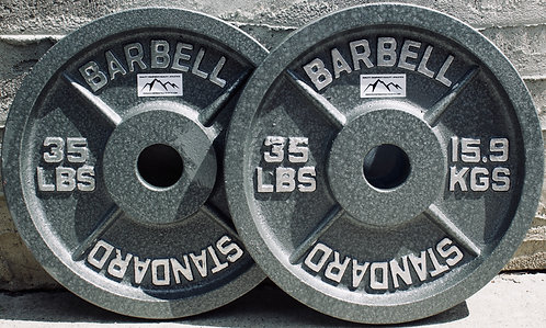 35LB OLYMPIC PLATE  [PAIR]