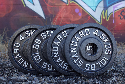 10LB OLYMPIC PLATE  [2 PAIRS]