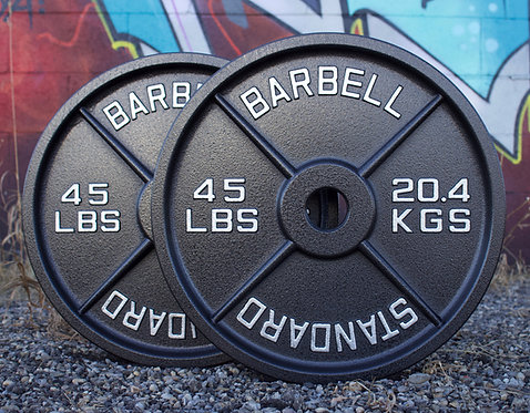 45LB OLYMPIC PLATE  [PAIR]