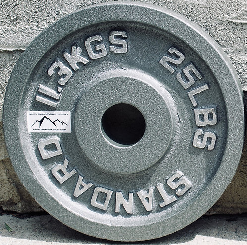 25LB OLYMPIC PLATE  [PAIR]