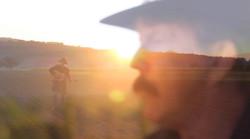 sunrise with sheme portrait