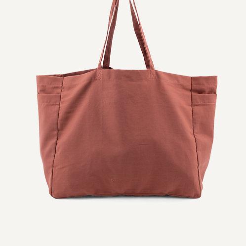Kyodaina big shopper • brick red