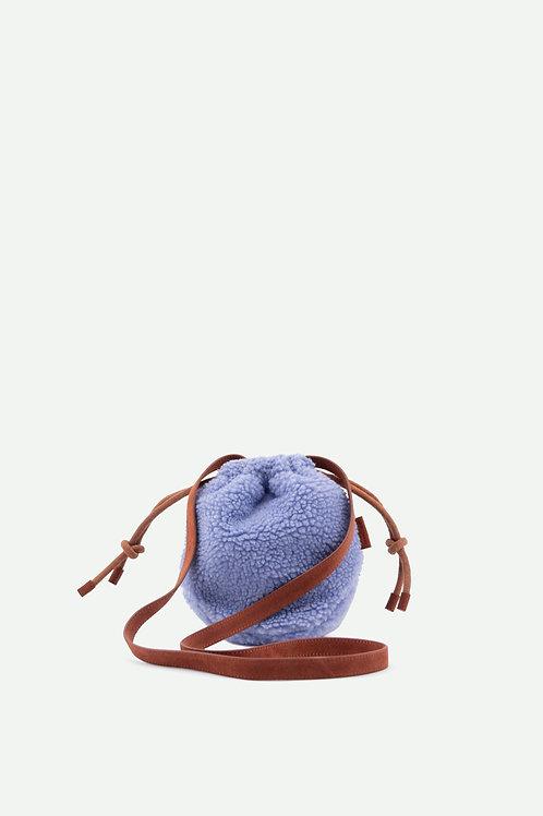 pouch bag | teddy | cornflower blue