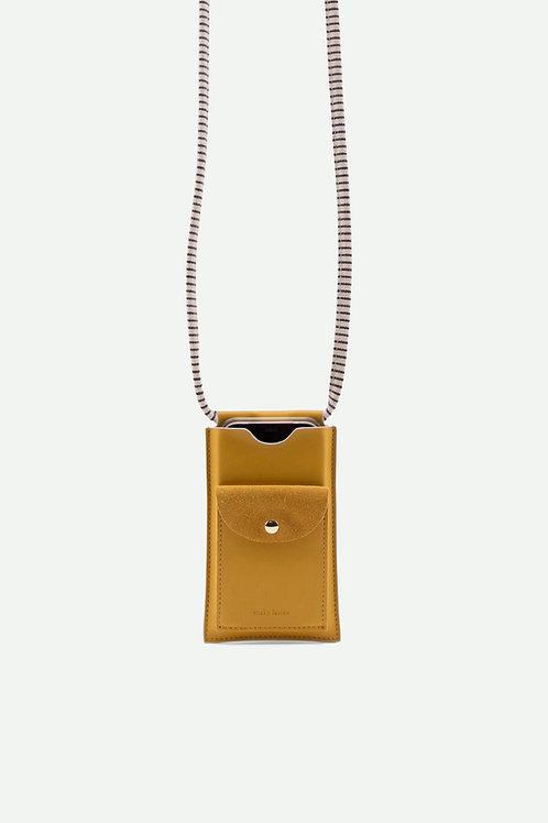 phone pouch   xl   ton sur ton   honey gold