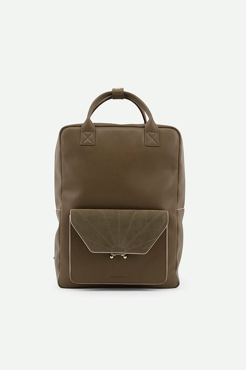Coming soon | backpack | ton sur ton | olive green
