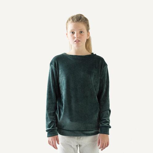 Together sweater • Velvet • Forrest green