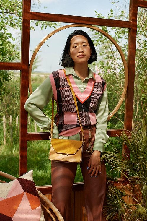 shoulder bag   ton sur ton   honey gold