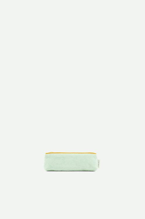 pencil case teddy | powder blue