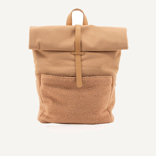 Herb backpack • wool • cashew