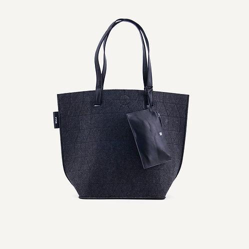Felt big shopper • dark grey