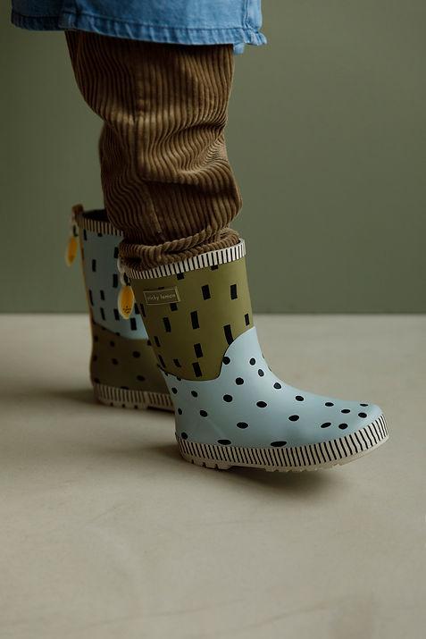 18085 - Sticky Lemon - Rainboots - Seven