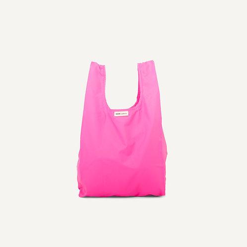 Monk bag • nylon • neon pink