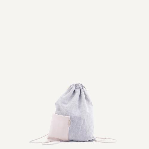 Nias drawstring bag • soft pink