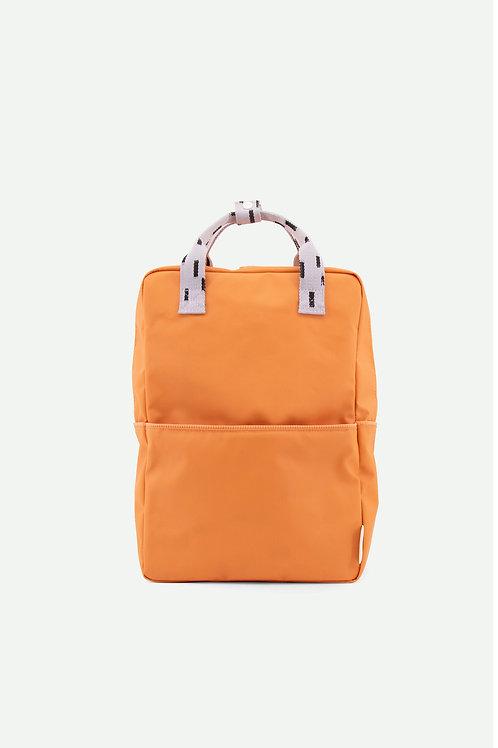 large backpack sprinkles   apricot orange + lavender