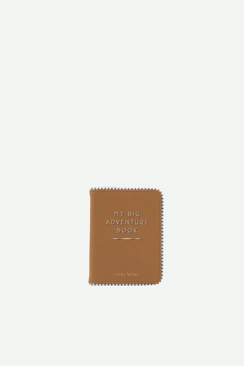 passport holder | sugar brown