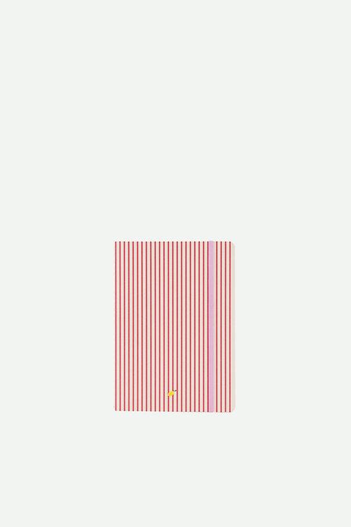 notebook | stripes