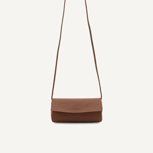 Jūgoya full moon bag • microfiber • chestnut