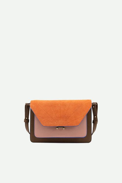 satchel | coloré | olive green