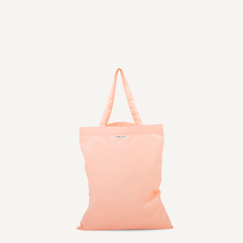 Anna shopper • nylon • soft pink