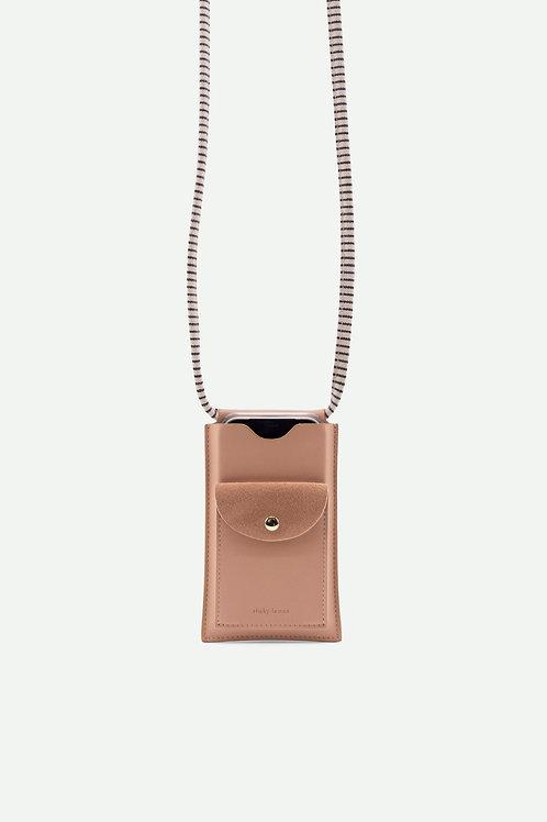 phone pouch | xl | ton sur ton | dawn pink