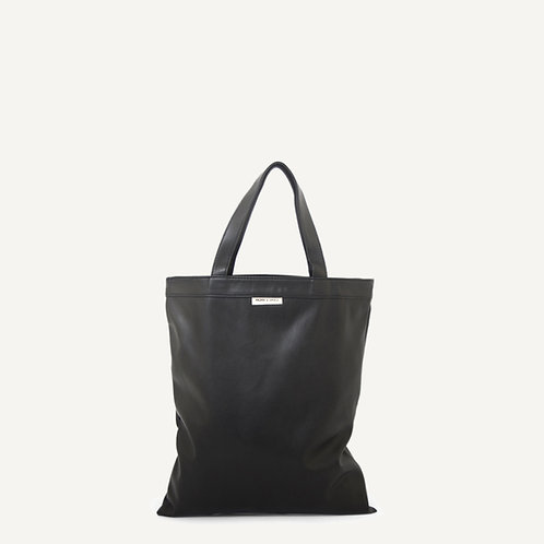 Anna shopper • vegan leather • black