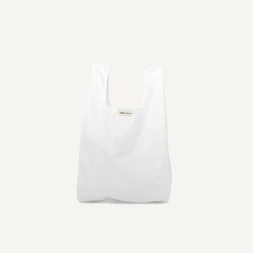 Monk bag • nylon • white