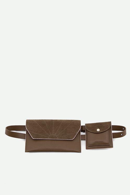 belt bag | ton sur ton | olive green