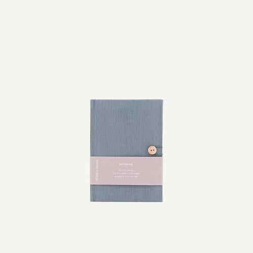 Notebook S • corduroy • dusty green