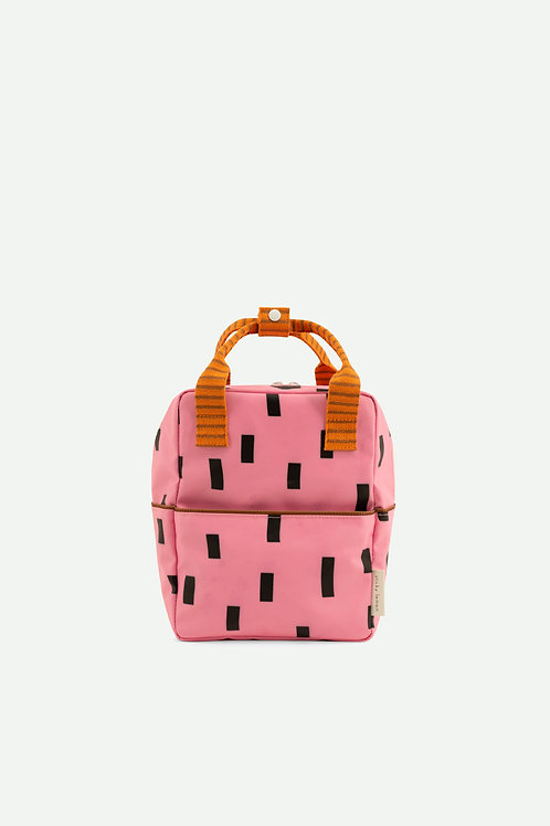 small backpack sprinkles | special edition | bubbly pink + carrot orange