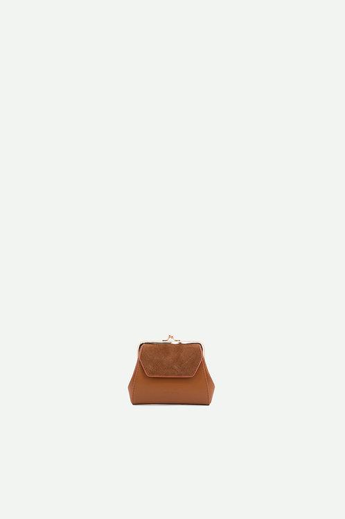 wallet | ton sur ton | cider brown