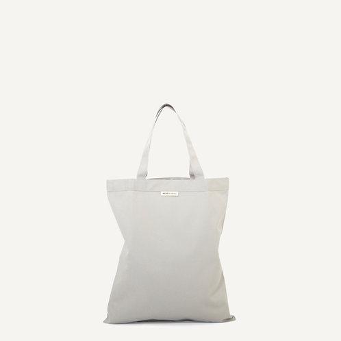 Anna shopper • waxed canvas • grey