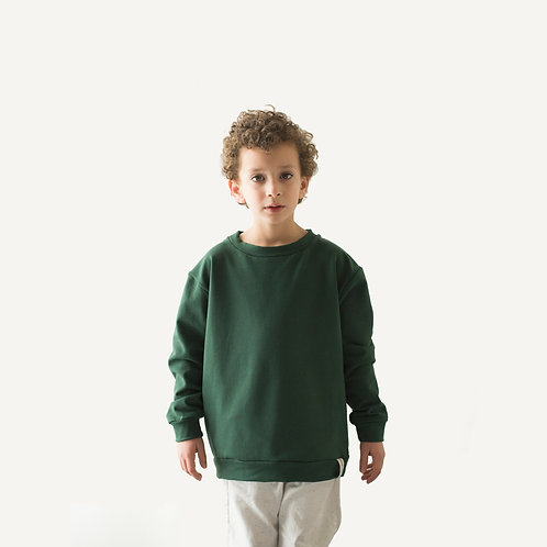 Together sweater • Bottle green