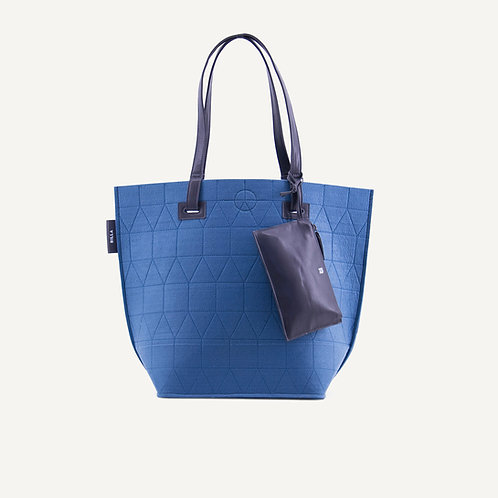 Felt big shopper • blue
