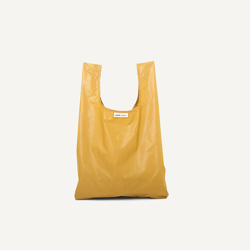 Monk bag • nylon • mustard