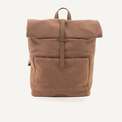 Herb backpack • wool • cacao