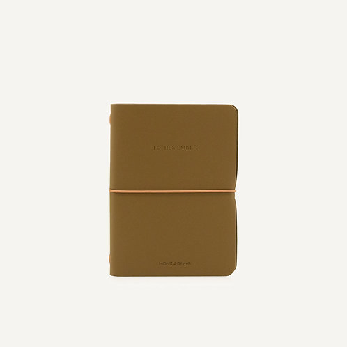 Notebook M • olive
