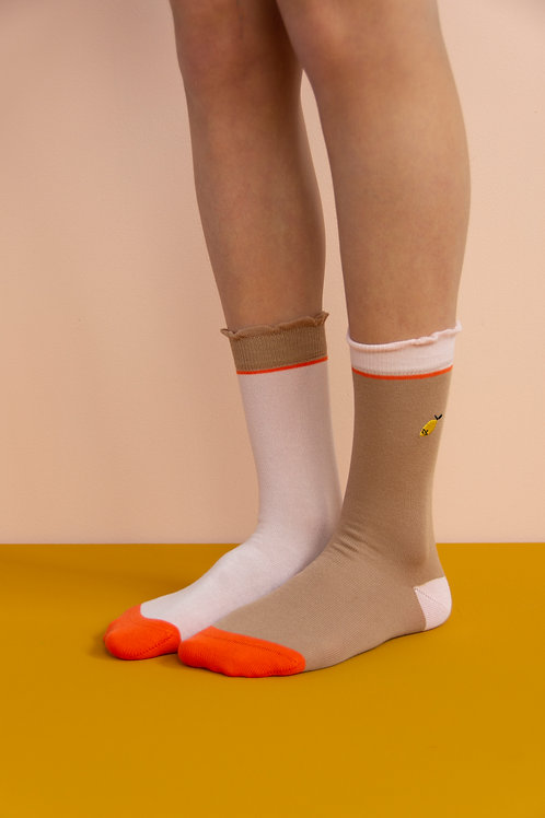 socks | special edition | chocolat au lait + pastry pink