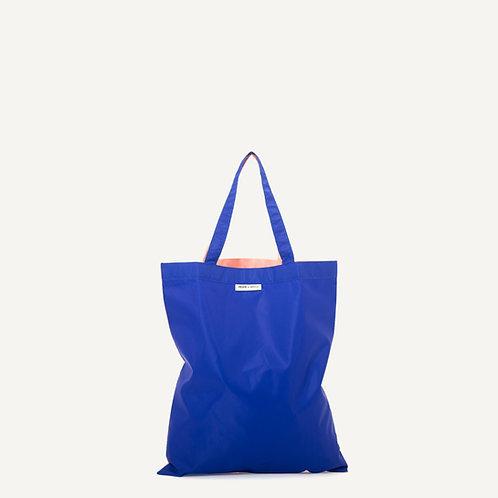 Anna shopper • nylon • ink blue & soft pink