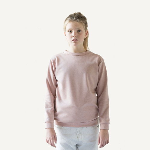 Together sweater • Soft pink