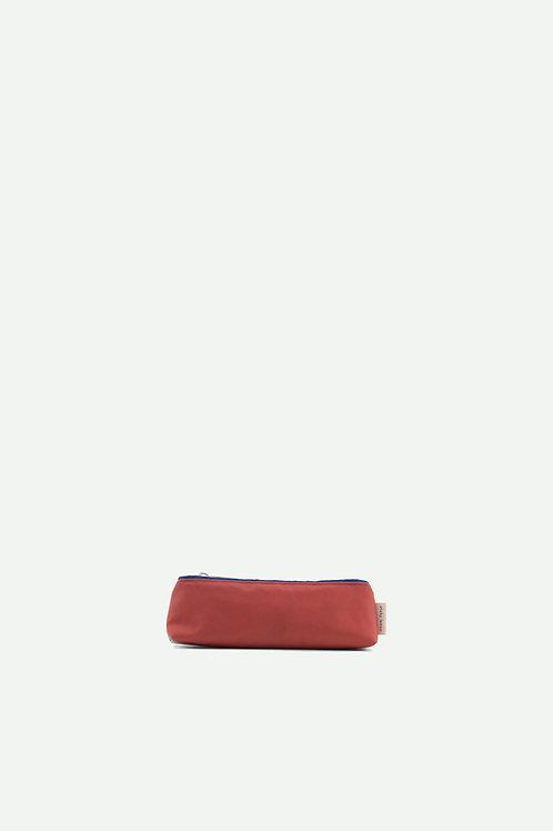 small pencil case diagonal | powder blue